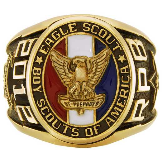 Eagle Scout Award Ring